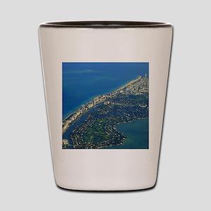 Life's a Beach in Miami Shot Glass