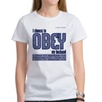Choose To Obey Blue T-Shirt