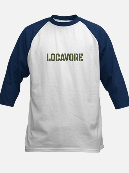 Locavore Kids Baseball Jersey
