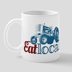 Eat Local Patriotic Mug
