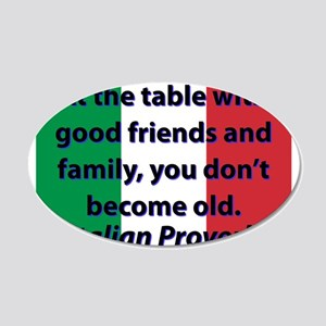 At The Table With Good Friends Wall Decal