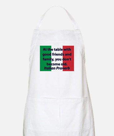 At The Table With Good Friends Light Apron