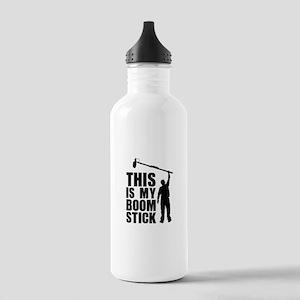 Boom Stick (black logo) Water Bottle