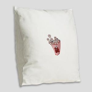 Pop Paws Paw Corn Burlap Throw Pillow