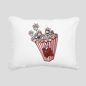 Pop Paws Paw Corn Rectangular Canvas Pillow
