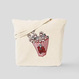 Pop Paws Paw Corn Tote Bag