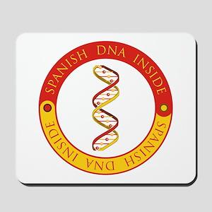 Spanish DNA Mousepad