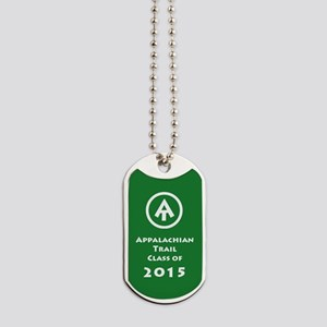 Appalachian Trail Class Of 2015 Dog Tags