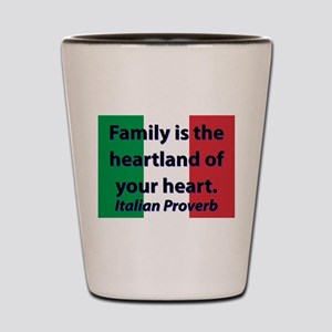 Family Is The Hearland Shot Glass