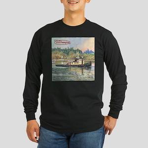 Cayou Long Sleeve Dark T-Shirt