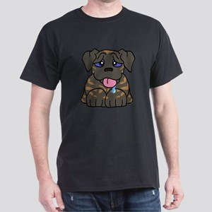 Mastiff Baby (Brindle) Dark T-Shirt