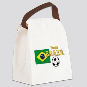 Team Brazil/Brasil - Soccer Canvas Lunch Bag