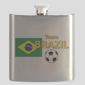 Team Brazil/Brasil - Soccer Flask
