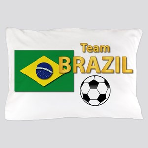 Team Brazil/Brasil - Soccer Pillow Case