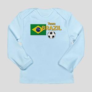 Team Brazil/Brasil - S Long Sleeve Infant T-Shirt
