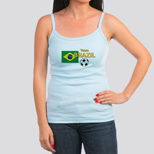 Team Brazil/Brasil - Soccer Jr. Spaghetti Tank