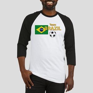 Team Brazil/Brasil - Soccer Baseball Jersey