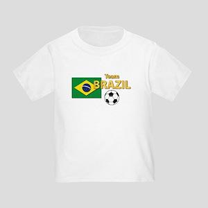 Team Brazil/Brasil - Soccer Toddler T-Shirt