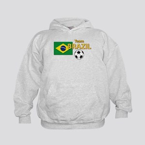 Team Brazil/Brasil - Soccer Kids Hoodie