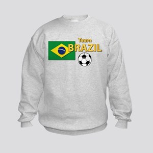 Team Brazil/Brasil - Soccer Kids Sweatshirt
