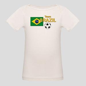 Team Brazil/Brasil - Soccer Organic Baby T-Shirt