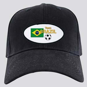 Team Brazil/Brasil - Soccer Black Cap