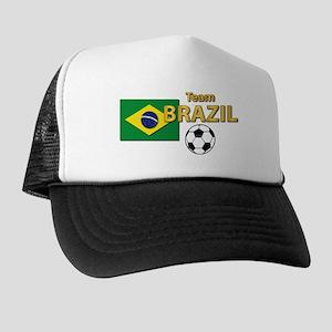 Team Brazil/Brasil - Soccer Trucker Hat