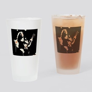 dime on fire Drinking Glass