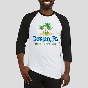 Destin Florida Therapy - Baseball Jersey
