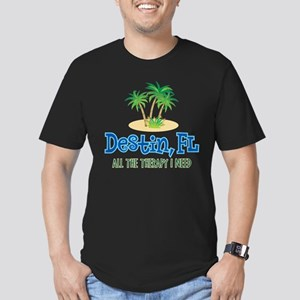 Destin Florida Therapy Men's Fitted T-Shirt (dark)
