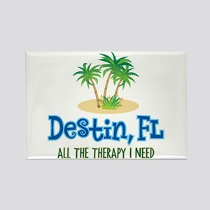 Destin Florida Therapy - Rectangle Magnet