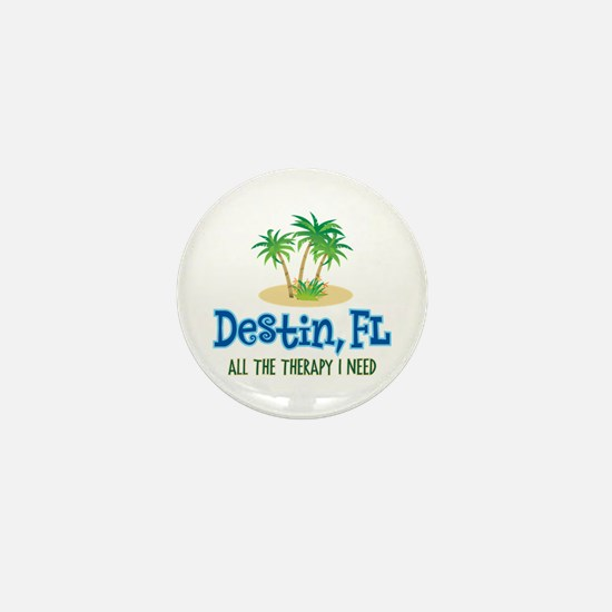 Destin Florida Therapy - Mini Button
