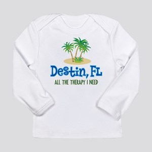 Destin Florida Therapy Long Sleeve Infant T-Shirt