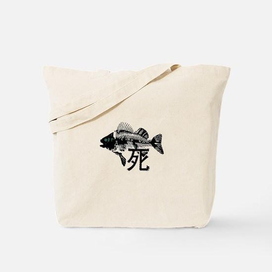 Pthalios Dead Fish Tote Bag