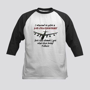 B-52 Stratofortress Humour Kids Baseball Jersey
