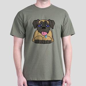 Mastiff Baby (Fawn) Dark T-Shirt