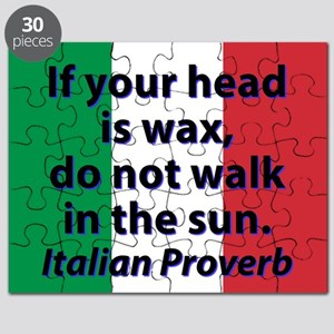 If Your Head Is Wax Puzzle