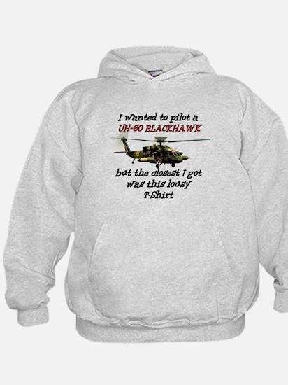 UH-60 Black Hawk Humour Hoodie