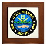 USS Sierra (AD 18) Framed Tile
