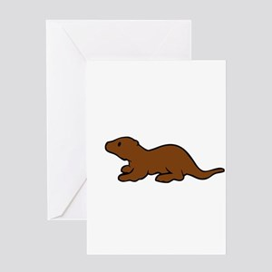 Cute Otter Greeting Cards