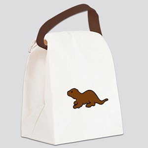 Cute Otter Canvas Lunch Bag