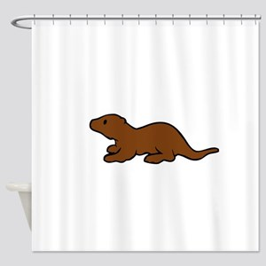 Cute Otter Shower Curtain