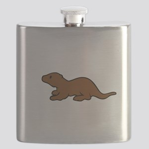 Cute Otter Flask
