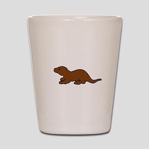 Cute Otter Shot Glass