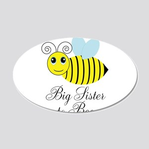 Big Sister to Bee Wall Decal