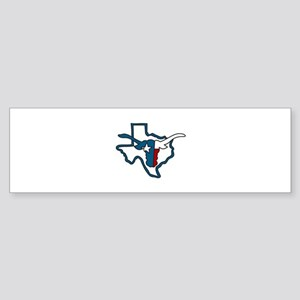 Long Horn Bumper Sticker