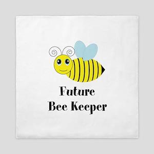 Future Bee Keeper Queen Duvet