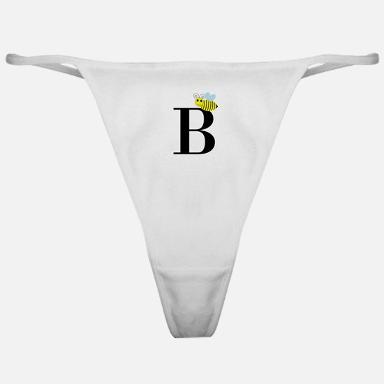 B is for Bee Classic Thong