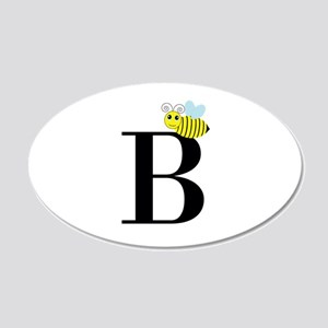 B is for Bee Wall Decal