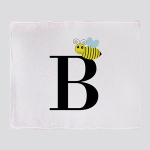 B is for Bee Throw Blanket